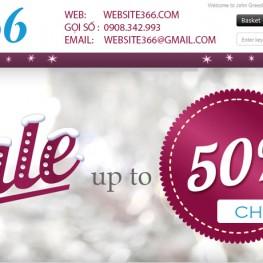 Giảm giá thiết kế website