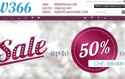 Giảm giá sốc chỉ 399.000 đ cho 1 website
