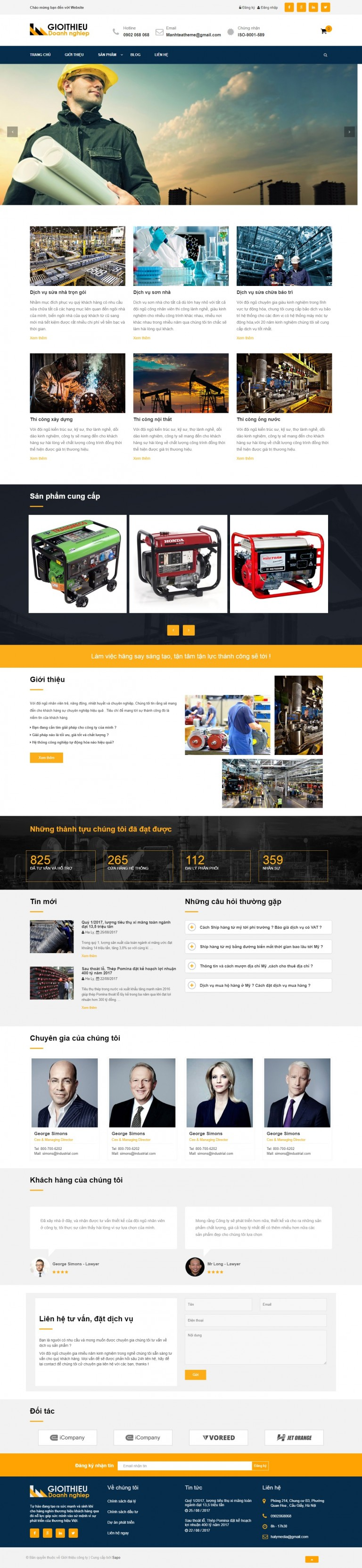 Web xây dựng 03