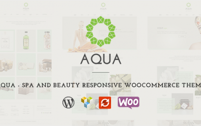 Aqua – Spa and Beauty theme wordpress sạch