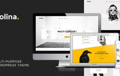 Bolina – Trendy & Stylist theme wordpress sạch