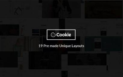 Cookie | Multipurpose Creative theme wordpress sạch