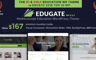 Education WordPress Theme theme wordpress sạch