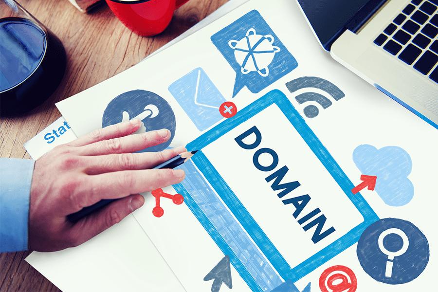 tên miền - domain
