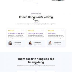 Mẫu web đẹp APP01