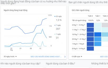Hướng dẫn cách gắn Google Analytics vào Website mới nhất