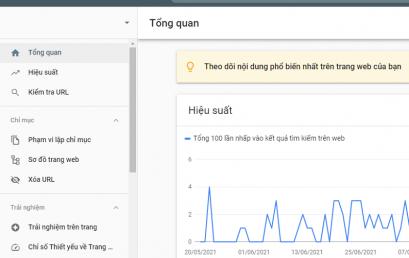 Hướng dẫn cách khai báo Website với Google mới nhất