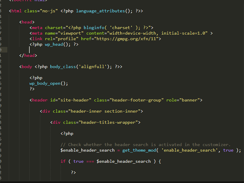 Hướng dẫn cách chèn thẻ meta, script vào header Website WordPress