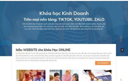 Những mẫu website đẹp nhất dùng để thiết kế web khóa học online